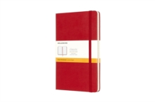 Moleskine Large Ruled Notebook Red, Notebook / blank book
