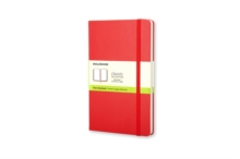 Moleskine Large Plain Notebook Red, Notebook / blank book Book
