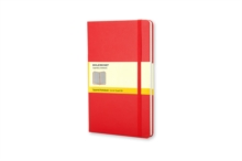 Moleskine Large Squared Notebook Red, Notebook / blank book Book