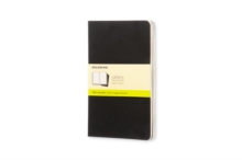 Moleskine Plain Cahier L : Moleskine Legendary Notebooks Large, Multiple copy pack