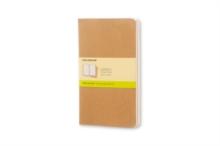 Moleskine Plain Cahier L : Large, Multiple copy pack Book