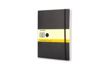 Moleskine Soft Xlarge Squared Notebook, Notebook / blank book