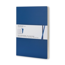 Moleskine Volant Large Ruled Antwerp Blue & Prussian Blue, Multiple copy pack