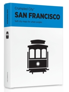 San Francisco Crumpled City Map, Sheet map Book