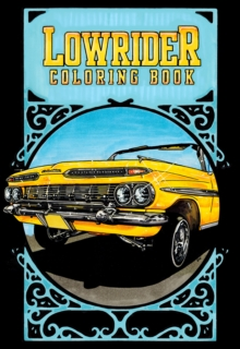 Lowrider Coloring Book, Paperback