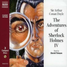"The Adventures of Sherlock Holmes : ""A Case of Identity"", ""The Crooked Man"", ""The Naval Treaty"", ""The Greek Interpreter"" v.4, CD-Audio Book"