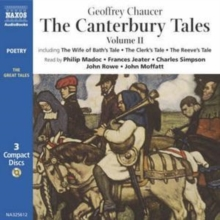 The Canterbury Tales : v. 2, CD-Audio