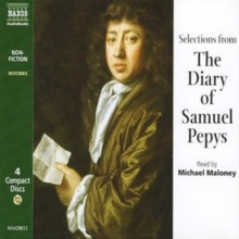 The Diary of Samuel Pepys : Selections, CD-Audio