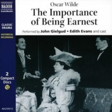 The Importance of Being Earnest, CD-Audio Book