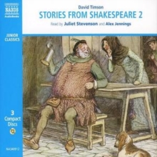 "Stories from Shakespeare : ""Julius Caesar "", ""The Merchant of Venice"", "" The Taming of the Shrew"", ""As You Like it"", ""Richard II"", ""Henry IV Part I and Part 2"", "" The Merry Wives of Windsor"" v. 2, CD-Audio"