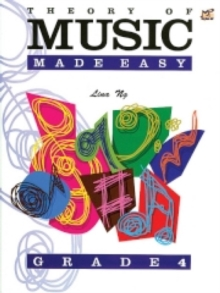 Theory of Music Made Easy : Grade 4, Sheet music
