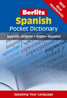 Berlitz: Spanish Pocket Dictionary, Paperback