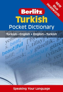 Berlitz: Turkish Pocket Dictionary, Paperback Book