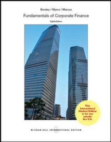 Fundamentals of Corporate Finance, Paperback
