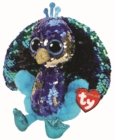 Tyson Peacock Flippable Beanie Boo - Book