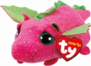 Darby Pink Dragon Teeny Ty - Book