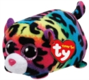 Jelly Multi Colour Leopard Teeny Ty - Book