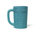 Library Card Mug Blue - Book