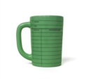 Library Card Mug Green - Book