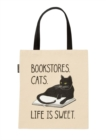 Bookstore Cats Tote Bag - Book