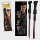 Harry Potter Wand Pen And Bookmark - Book