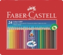 Faber Castell Grip Colouring Penccils Pack of 24. - Book