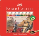 Faber Castell Colouring Pencils Tin of 24 - Book