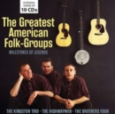 The Greatest American Folk-groups - CD