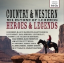 Country & Western Milestone of Legends: Heroes & Legends - CD