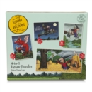 Room on the Broom 4 : 1 Puzzle - Book