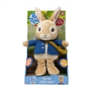 Peter Rabbit Talking Soft Toy - Book