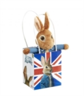 Peter Rabbit Movie Soft Toy in a Union Jack Bag - Book