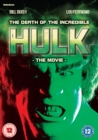 The Death of the Incredible Hulk - DVD