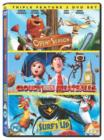 Cloudy With a Chance of Meatballs/Open Season/Surf's Up - DVD