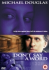 Don't Say a Word - DVD