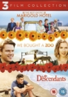 The Best Exotic Marigold Hotel/We Bought a Zoo/The Descendants - DVD