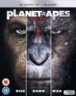 Planet of the Apes Trilogy - Blu-ray