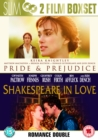 Pride and Prejudice/Shakespeare in Love - DVD