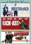 Role Models/Kick-ass/Superbad - DVD