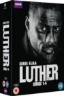 Luther: Series 1-4 - DVD