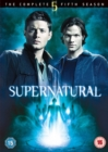 Supernatural: The Complete Fifth Season - DVD