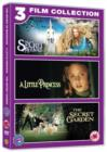 The Secret of Moonacre/A Little Princess/The Secret Garden - DVD