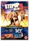 Step Up 1-5 - DVD
