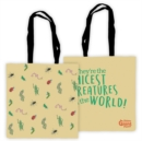 JAMES GIANT PEACH EDGE TO EDGE TOTE BAG - Book