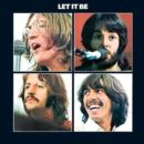 The Beatles Let It Be Album Cover Steel Wall Sign - Merchandise