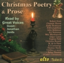 Christmas Poetry & Prose Read By Great Voices - CD