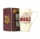 HP - Muggles Latte Mug - Book