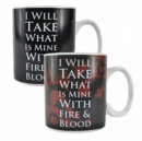 GoT - Daenerys Targaryen Quote Heat Change Mug - Book