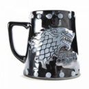 GoT - Stark 'stud relief' Large Tankard Mug - Book