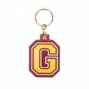 Harry Potter G For Gryffindor (Pu) Keyring - Merchandise